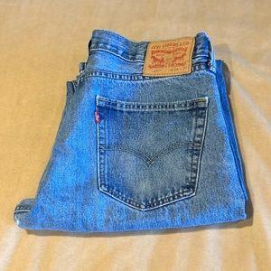 Levi Straight Cut Vintage Jean